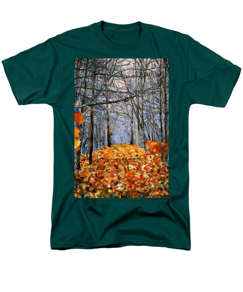 End Of Autumn Men's T-Shirt  (Regular Fit) by Bruce Nutting