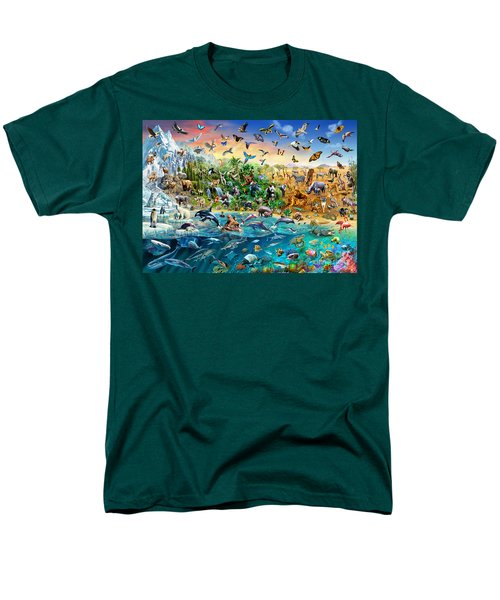 Endangered Species Men's T-Shirt  (Regular Fit) by Adrian Chesterman