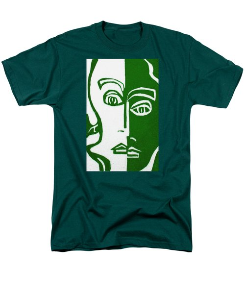 Men's T-Shirt  (Regular Fit) featuring the painting Envy by Donna Tucker
