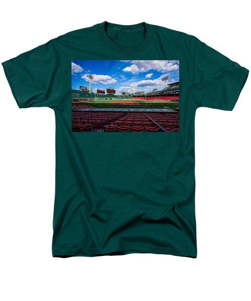 Fenway Park Men's T-Shirt  (Regular Fit) by Tom Gort