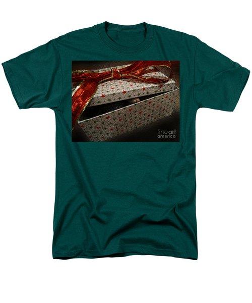 Men's T-Shirt  (Regular Fit) featuring the photograph Ferrety Christmas by Cassandra Buckley