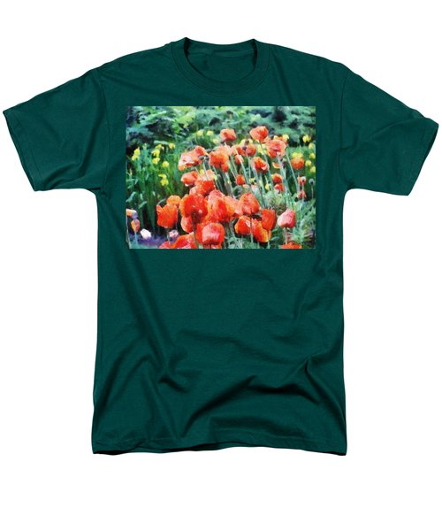Field Of Flowers Men's T-Shirt  (Regular Fit) by Jeff Kolker