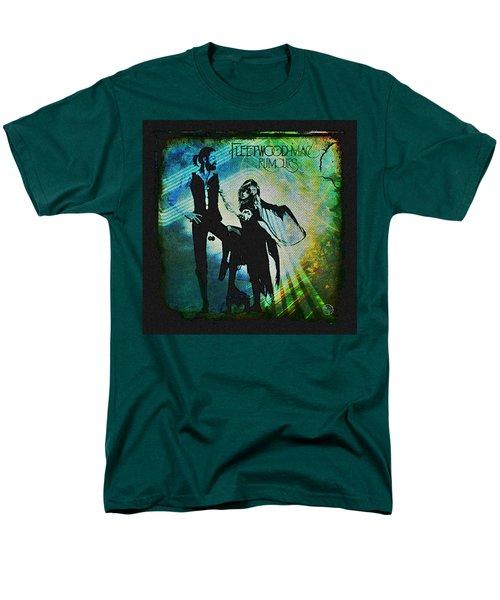Fleetwood Mac - Cover Art Design Men's T-Shirt  (Regular Fit) by Absinthe Art By Michelle LeAnn Scott