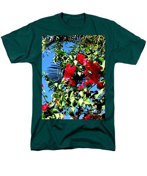 Men's T-Shirt  (Regular Fit) featuring the photograph Florida Sky View by Oksana Semenchenko