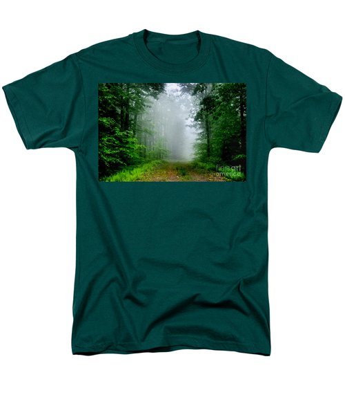Men's T-Shirt  (Regular Fit) featuring the photograph Foggy Morning by Debra Fedchin