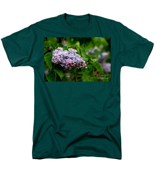 For The Love Of Lilac Men's T-Shirt  (Regular Fit) by Living Color Photography Lorraine Lynch