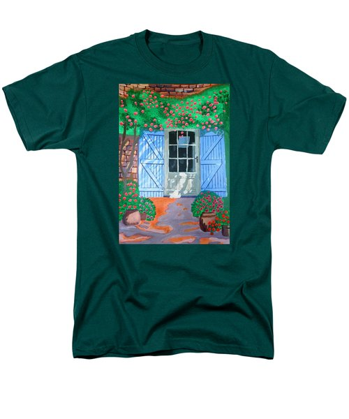 French Farm Yard Men's T-Shirt  (Regular Fit) by Magdalena Frohnsdorff