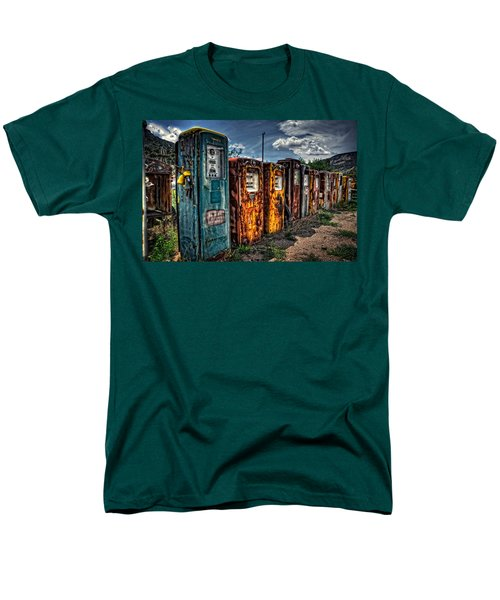 Men's T-Shirt  (Regular Fit) featuring the photograph Gasoline Alley by Ken Smith