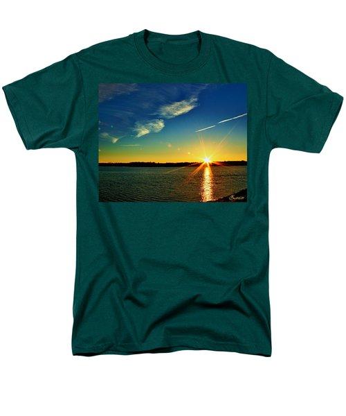Gc Lake Sunrise Men's T-Shirt  (Regular Fit)