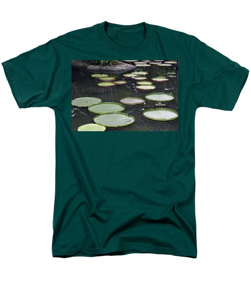 Men's T-Shirt  (Regular Fit) featuring the photograph Giant Lily Pads by Shoal Hollingsworth