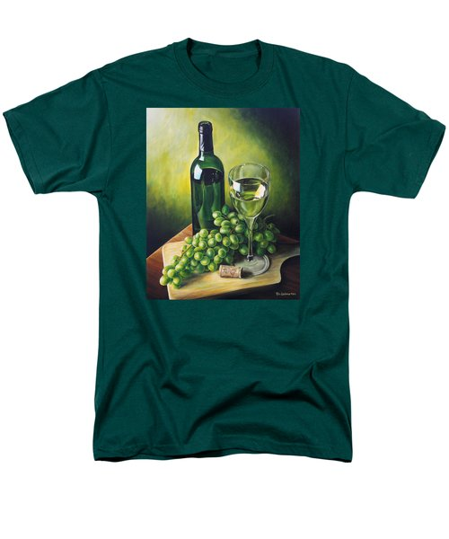 Grapes And Wine Men's T-Shirt  (Regular Fit) by Kim Lockman