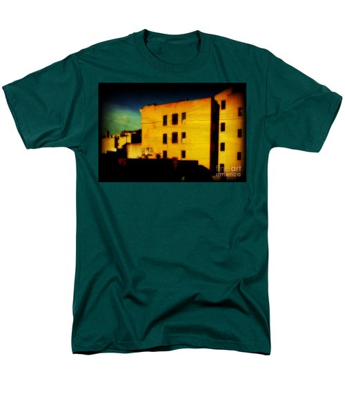Men's T-Shirt  (Regular Fit) featuring the photograph Green Sky by Miriam Danar