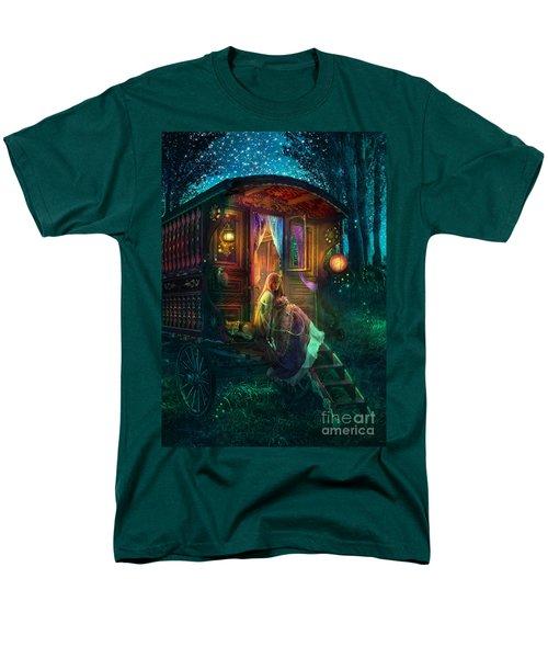 Gypsy Firefly Men's T-Shirt  (Regular Fit) by Aimee Stewart
