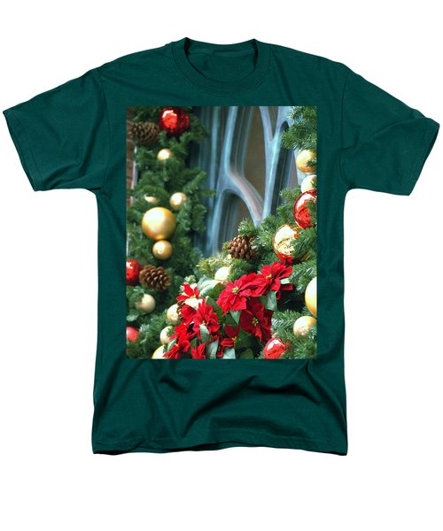 Men's T-Shirt  (Regular Fit) featuring the photograph Happy Chirstmas by Rachel Mirror