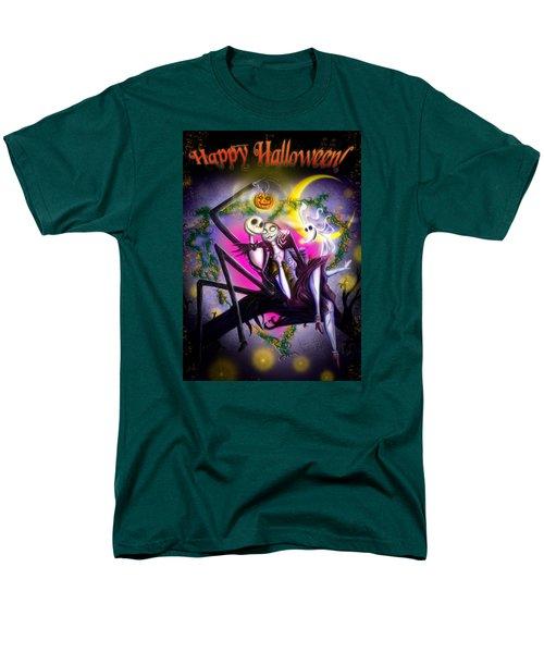 Happy Halloween II Men's T-Shirt  (Regular Fit) by Alessandro Della Pietra