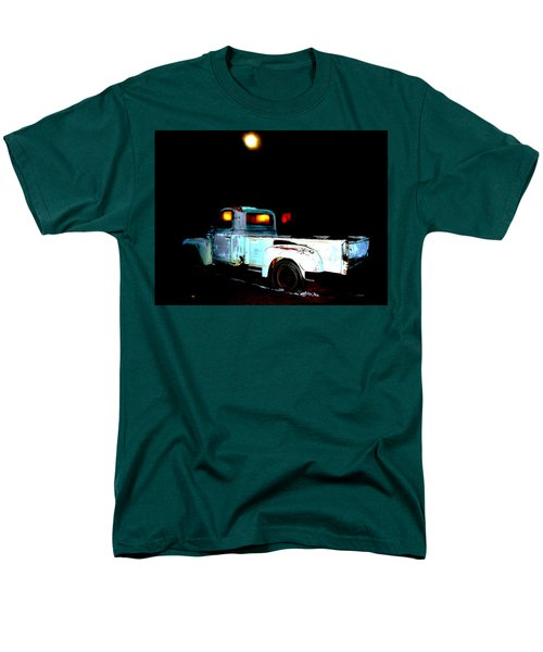 Men's T-Shirt  (Regular Fit) featuring the digital art Haunted Truck by Cathy Anderson