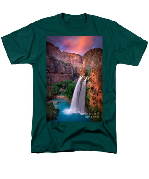 Havasu Falls Men's T-Shirt  (Regular Fit) by Inge Johnsson