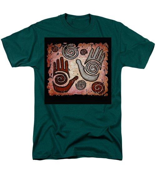 Healing Hands Fresco Men's T-Shirt  (Regular Fit)