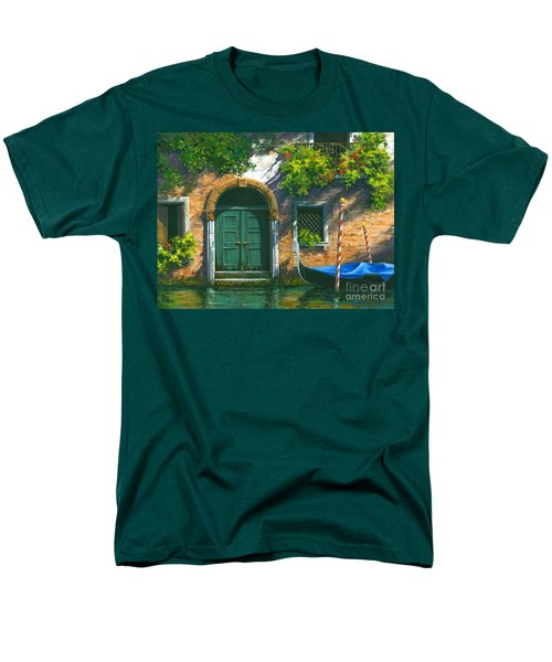 Men's T-Shirt  (Regular Fit) featuring the painting Home Is Where The Heart Is by Michael Swanson