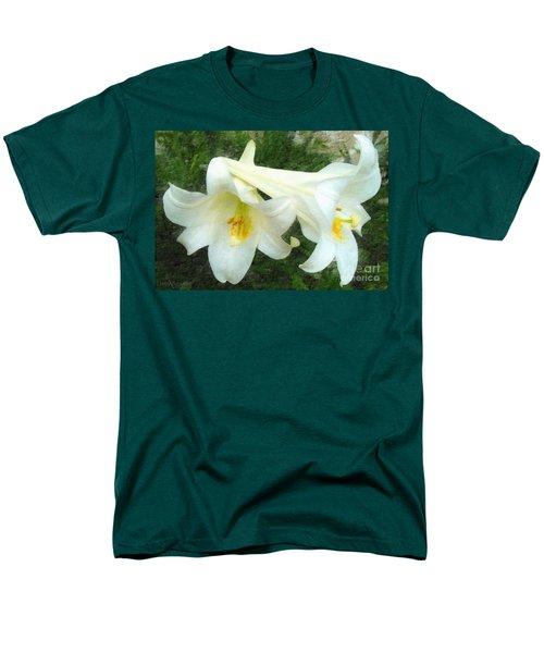 Men's T-Shirt  (Regular Fit) featuring the digital art Hope Is Risen by Lianne Schneider