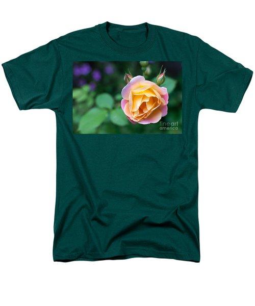 Men's T-Shirt  (Regular Fit) featuring the photograph Hybrid Tea Rose by Matt Malloy
