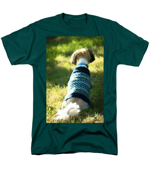 Men's T-Shirt  (Regular Fit) featuring the photograph I'll Be Waiting For You by Ellen Cotton