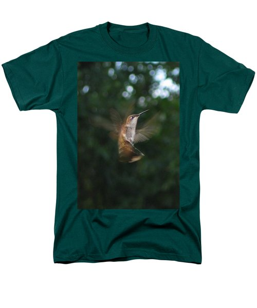 Men's T-Shirt  (Regular Fit) featuring the photograph In Flight by Photographic Arts And Design Studio