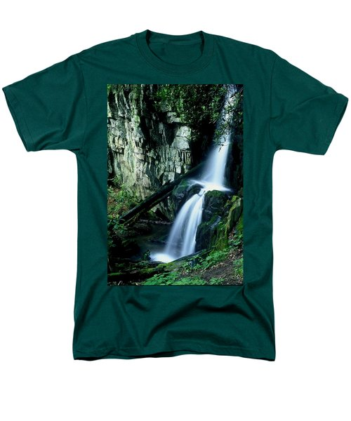 Indian Falls Men's T-Shirt  (Regular Fit)