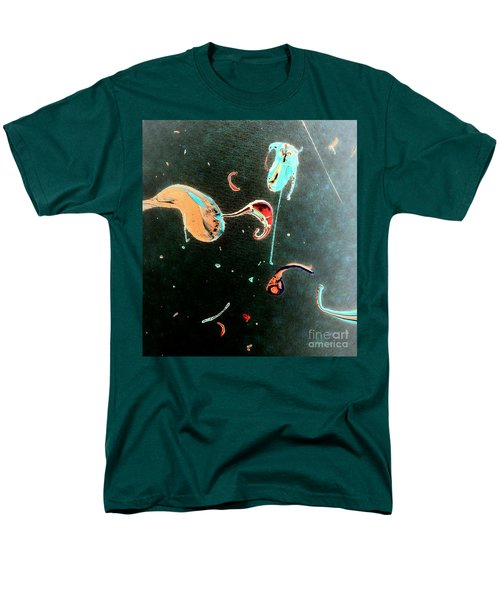 Men's T-Shirt  (Regular Fit) featuring the painting Inner Space by Jacqueline McReynolds