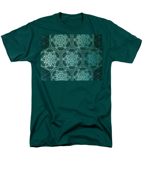 Men's T-Shirt  (Regular Fit) featuring the drawing Interference by Jason Padgett