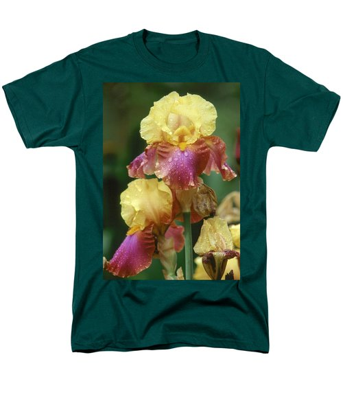 Iris 1 Men's T-Shirt  (Regular Fit)