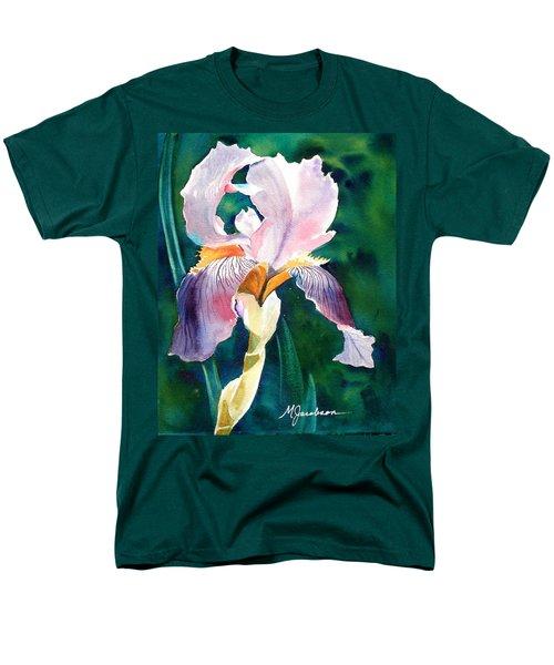 Iris 1 Men's T-Shirt  (Regular Fit) by Marilyn Jacobson