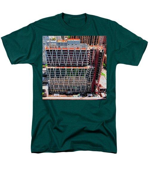 Jun 2014 Rear Above Men's T-Shirt  (Regular Fit) by Steve Sahm