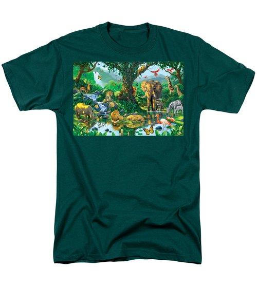 Jungle Harmony Men's T-Shirt  (Regular Fit) by Chris Heitt