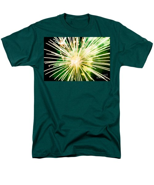 Men's T-Shirt  (Regular Fit) featuring the photograph Kaboom by Suzanne Luft
