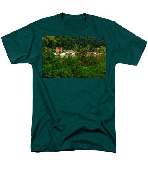 Kanawha Falls Men's T-Shirt  (Regular Fit) by Dave Files