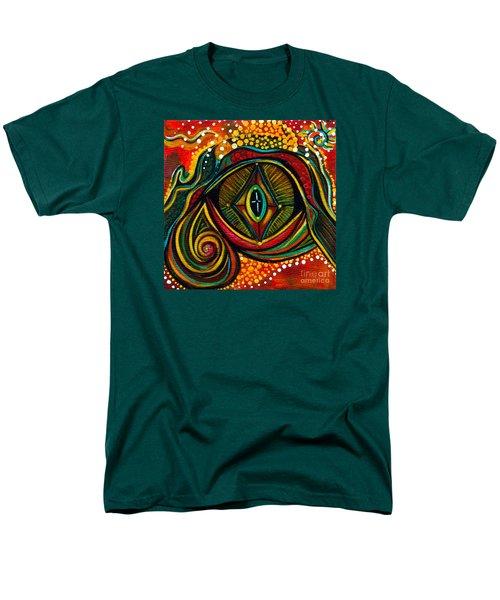 Men's T-Shirt  (Regular Fit) featuring the painting Kindness Spirit Eye by Deborha Kerr