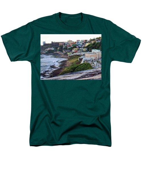 La Perla Men's T-Shirt  (Regular Fit) by Daniel Sheldon