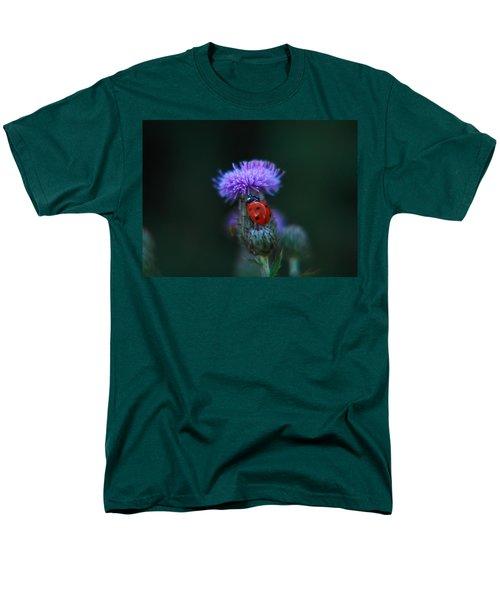 Ladybug Men's T-Shirt  (Regular Fit) by Jeff Swan