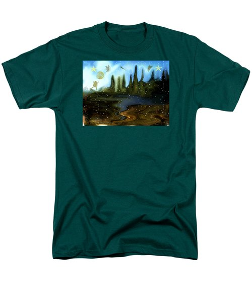 Land Of The Fairies  For Kids Men's T-Shirt  (Regular Fit) by Sherri's Of Palm Springs