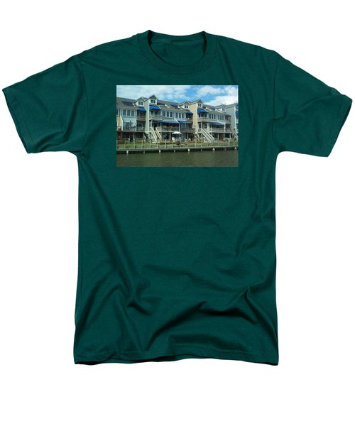 Men's T-Shirt  (Regular Fit) featuring the photograph Living On The Dock Of The Bay by Emmy Marie Vickers