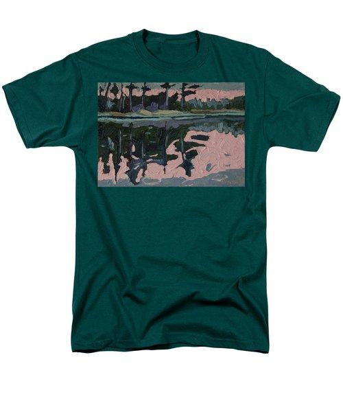 Long Reach Rain Men's T-Shirt  (Regular Fit) by Phil Chadwick
