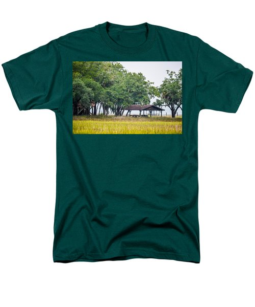 Lowland Picnic Place  Men's T-Shirt  (Regular Fit) by Mary Ward