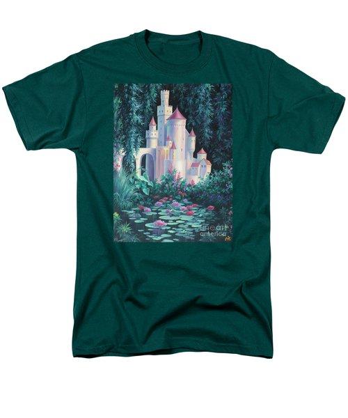 Magic Castle Men's T-Shirt  (Regular Fit) by Vivien Rhyan