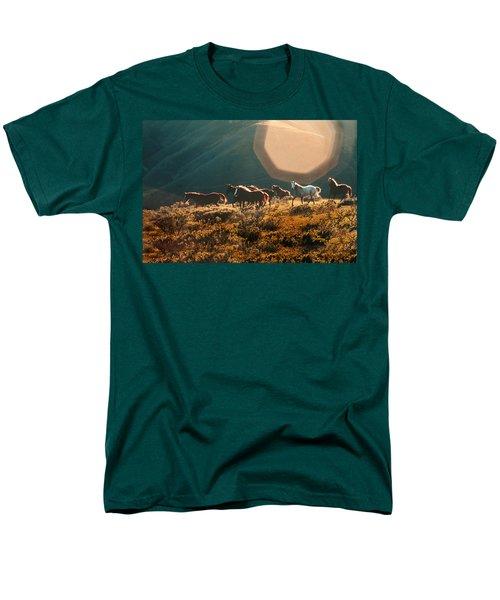 Magical Herd Men's T-Shirt  (Regular Fit) by Melinda Hughes-Berland