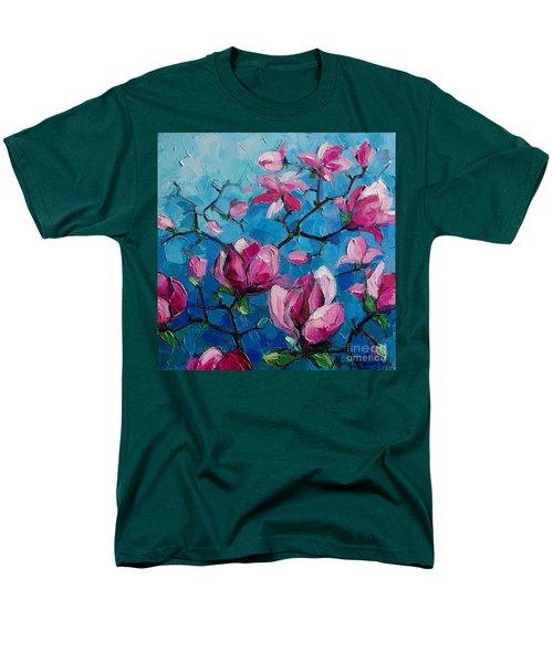 Magnolias For Ever Men's T-Shirt  (Regular Fit)