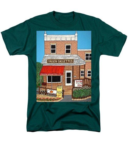 Maison Baguettes Men's T-Shirt  (Regular Fit) by Stephanie Moore