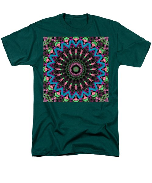 Men's T-Shirt  (Regular Fit) featuring the digital art Mandala 35 by Terry Reynoldson