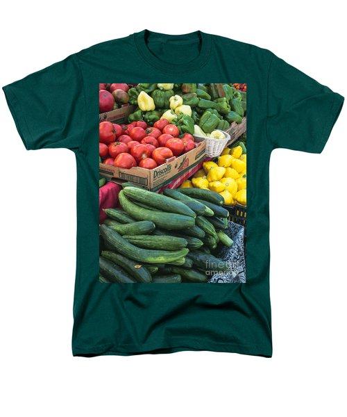 Men's T-Shirt  (Regular Fit) featuring the photograph Market Freshness by Arlene Carmel