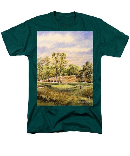 Merion Golf Club Men's T-Shirt  (Regular Fit) by Bill Holkham